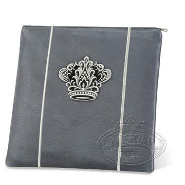 Highest Nobility, Elegant Style Tallis / Tefillin Bag, Grey, LR