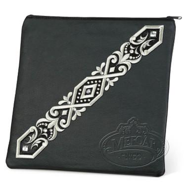 Majestic Pomp, Classic Style Tallis / Tefillin Bag, Black, LR