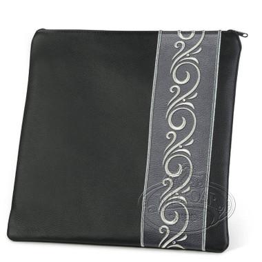 Stately Honor, Classic Style Tallis / Tefillin Bag, Black/Grey, LL