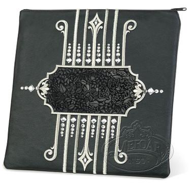 Illustrious Design, Elegant Style Tallis / Tefillin Bag, Black, LE