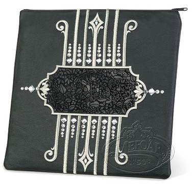 Illustrious Design, Elegant Style Tallis / Tefillin Bag, Black, LE