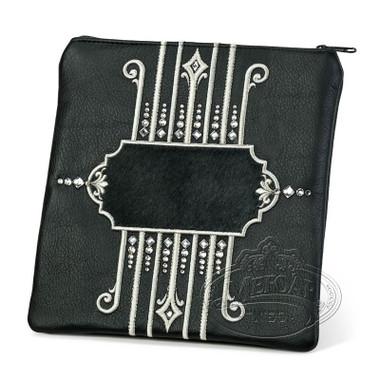 Illustrious Design, Elegant Style Tallis / Tefillin Bag, Black/Black, LF
