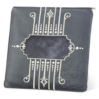 Illustrious Design, Elegant Style Tallis / Tefillin Bag, Grey/Grey, LF