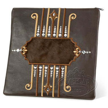 Illustrious Design, Elegant Style Tallis / Tefillin Bag, Brown/Brown, LF
