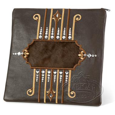 Illustrious Design, Elegant Style Tallis / Tefillin Bag, Brown/Brown, LF