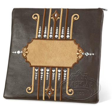 Illustrious Design, Elegant Style Tallis / Tefillin Bag, Brown/Camel, LF