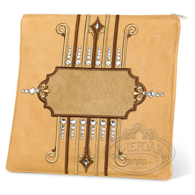 Illustrious Design, Elegant Style Tallis / Tefillin Bag, Camel/Camel, LF