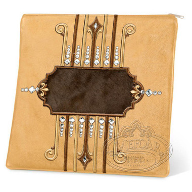 Illustrious Design, Elegant Style Tallis / Tefillin Bag, Camel/Brown, LF