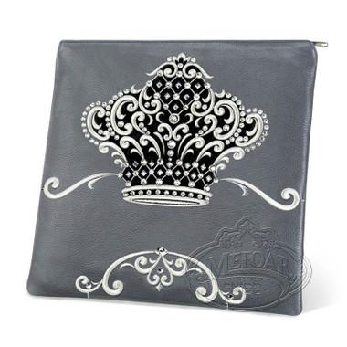 Sophisticated Beauty, Decorative Style Tallis Bag, Grey/Black, LR