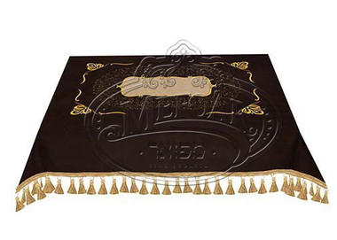 Velvet Bimah Cover Crown - Style 1705  - brown