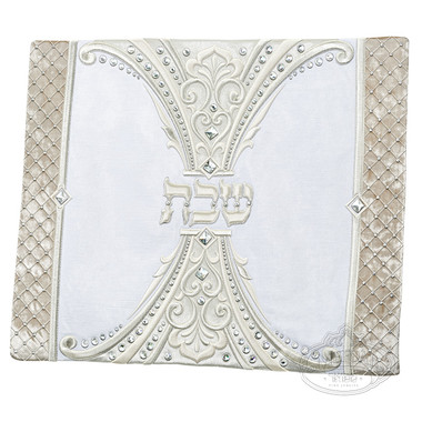 Challah Cover #1322 Royaume Kingdom Silver Collection