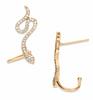 Serpent Crawler Earring - GOLD