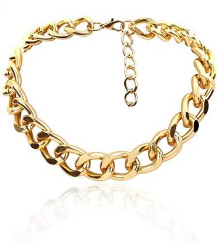 The Frumee Link Choker/Necklace - GOLD