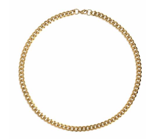 Liam Cuban Link Necklace - GOLD