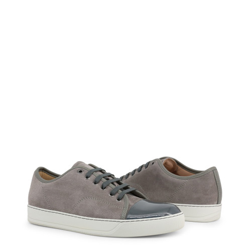 lanvin grey sneakers