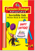 """Invisible Ink with Stickers: Curious George™ """"Happy Birthday"""""""