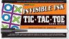 """Invisible Ink: Yes & Know® Game Book """"Tic Tac Toe"""""""