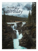 KJV Boxed Cards - Birthday, Waterfall by Heartwarming Thought