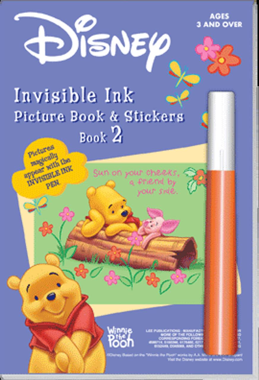 Disney Winnie The Pooh Book 1 Magic Painting Pen Activity Book NEW