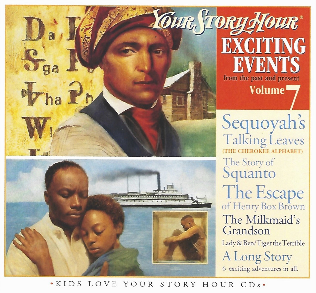 Exciting Events Vol 7 Audio CDs by Your Story Hour
