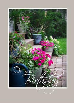 On Your Birthday - KJV Scripture Greeting Card - 5X7