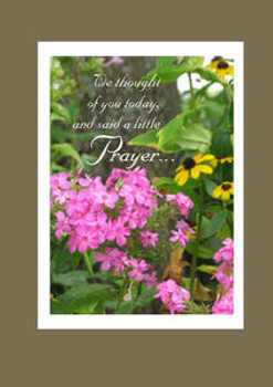 "We thought of you today... - 5"" x 7"" KJV Greeting Card"