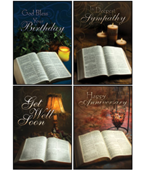 KJV Boxed Cards - All Occasion, Light From His Word