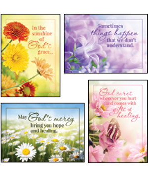 KJV Boxed Cards - Get Well, Sunny Wishes
