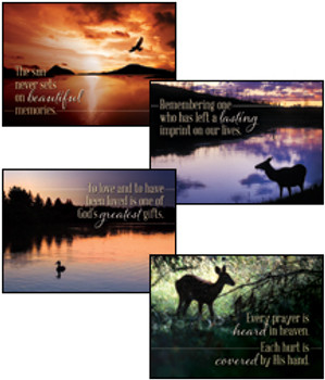 KJV Boxed Cards - Sympathy, Reflections of Faith
