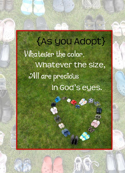 Adoption KJV Greeting Card - As You Adopt
