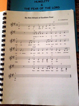 Tongue Tamers Vol 1 Sheet Music - Singables KJV Scripture Songs