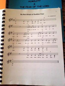 Hope & Peace Vol 5 Sheet Music - Singables KJV Scripture Songs