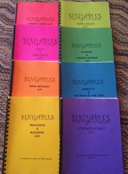 Wisdom & Understanding Vol 6 Sheet Music - Singables KJV Scripture Songs