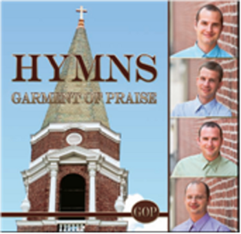 Hymns CD by Garment of Praise Quartet