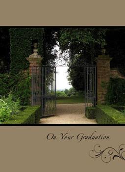 "On Your Graduation - 5"" x 7"" KJV Greeting Card 56"
