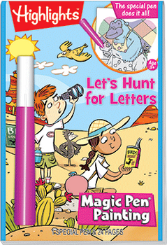 """Magic Pen® Painting: Highlights™ """"Let's Hunt for Letters"""""""