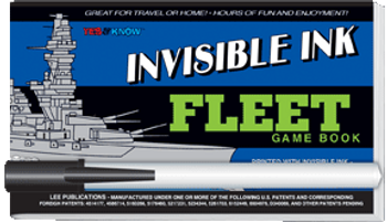 "Invisible Ink: Yes & Know® Game Book ""Fleet"""