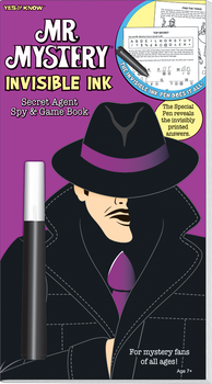 Invisible Ink: Yes & Know® Mr. Mystery - Set of 4
