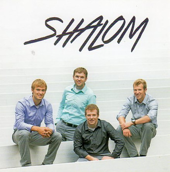 Shalom CD by Men's Quartet