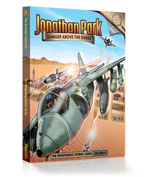 Jonathan Park Series 9 - The Whispering Sphinx #4: Danger Above the Dunes - Audio Drama CD