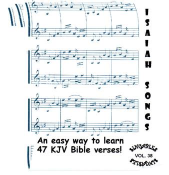 Isaiah Songs CD/MP3 - KJV Bible Verse Scripture by Heartsong Singables