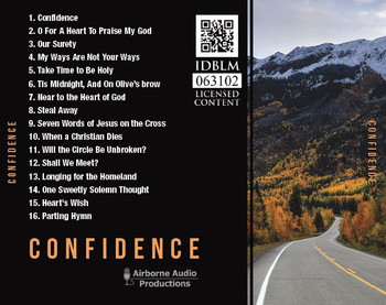 Confidence CD by Erik Hertzel