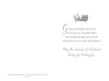 KJV Boxed Cards - Christmas - Love Was Born