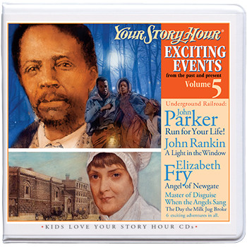 Exciting Events Vol 5 Audio CDs by Your Story Hour