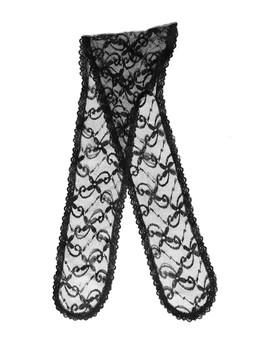 Prayer Veil - Black Lace - Daisy Twirls - Chapel