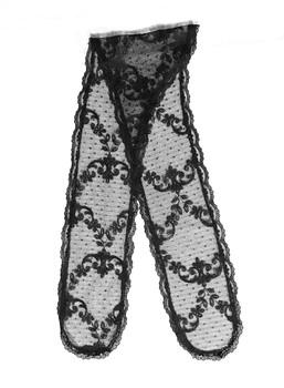 Prayer Veil - Black Lace - Delicate Harmony - Chapel