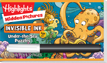 Invisible Ink: Highlights™ - Hidden Pictures™ Under-the-Sea Puzzles