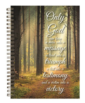 Only God - Journal, Stationery & Magnetic List - by Heartwarming Thoughts
