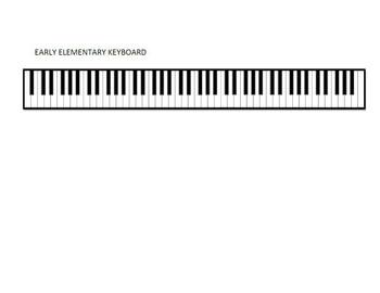 Progress book keyboard page