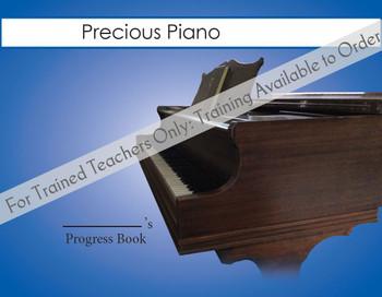Precious Piano - Progress Book